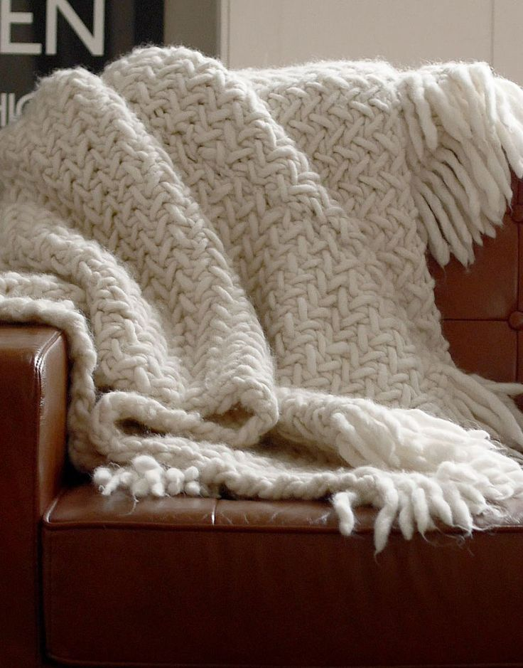 How to knit a blanket Blanket knitting patterns, Knitted