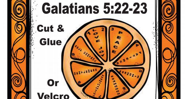 Fruit of the spirit orange slices secpdf fruit of the