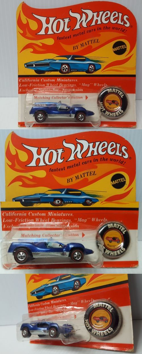 Cars Trucks and Vans 180273: Hot Wheels Redline Blue Mantis Canadian Un-Punched Blister Pack Hk..Rare -> BUY IT NOW ONLY: $159.95 on eBay!A-Z Toys and Games