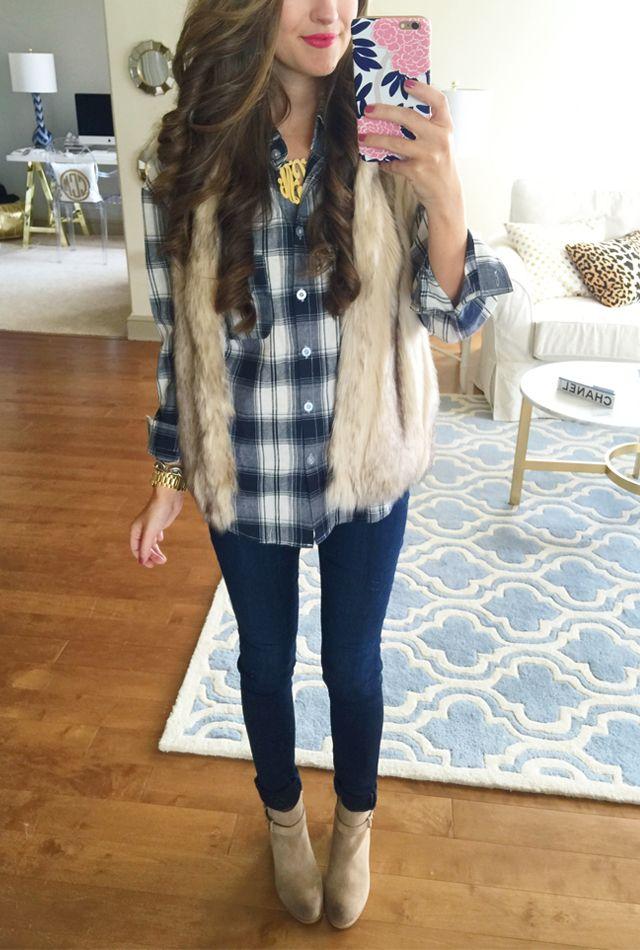 1000 Ideas About Furry Vest On Pinterest Fox Fur Vest