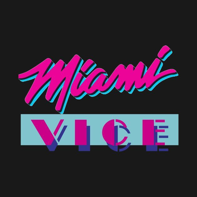 Check Out This Awesome Miami Vice Design On Teepublic Check Out This Awesome Miami Vice Design On Teepublic In 2020 Miami Vice Fernsehserie Fernseher