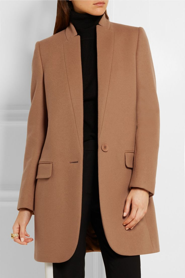 Stella McCartney | Bryce wool-blend coat | NET-A-PORTER.COM