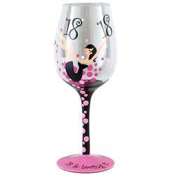 Bicchiere di vino elegante Tallulah - 18 anni