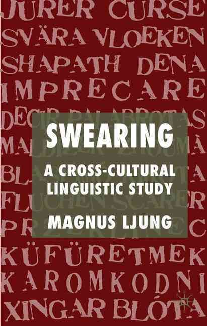 This study provides a definition and a typology of swearing and compares its manifestations in English and 24 other languages. In addition the study traces the history of swearing from its first known