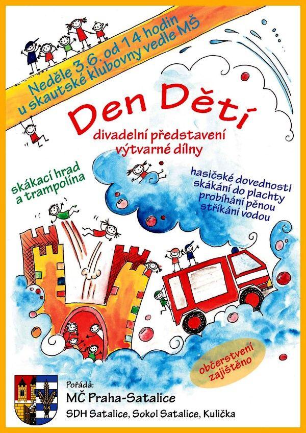 Plakát dětský den 2012