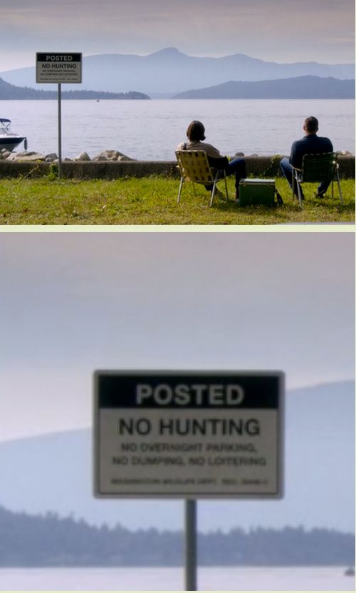 I swear, the writers and set designers for Supernatural are geniuses<<I think they just like having secret laughs.