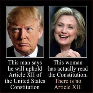 Funniest Hillary Clinton Memes: Upholding the Constitution