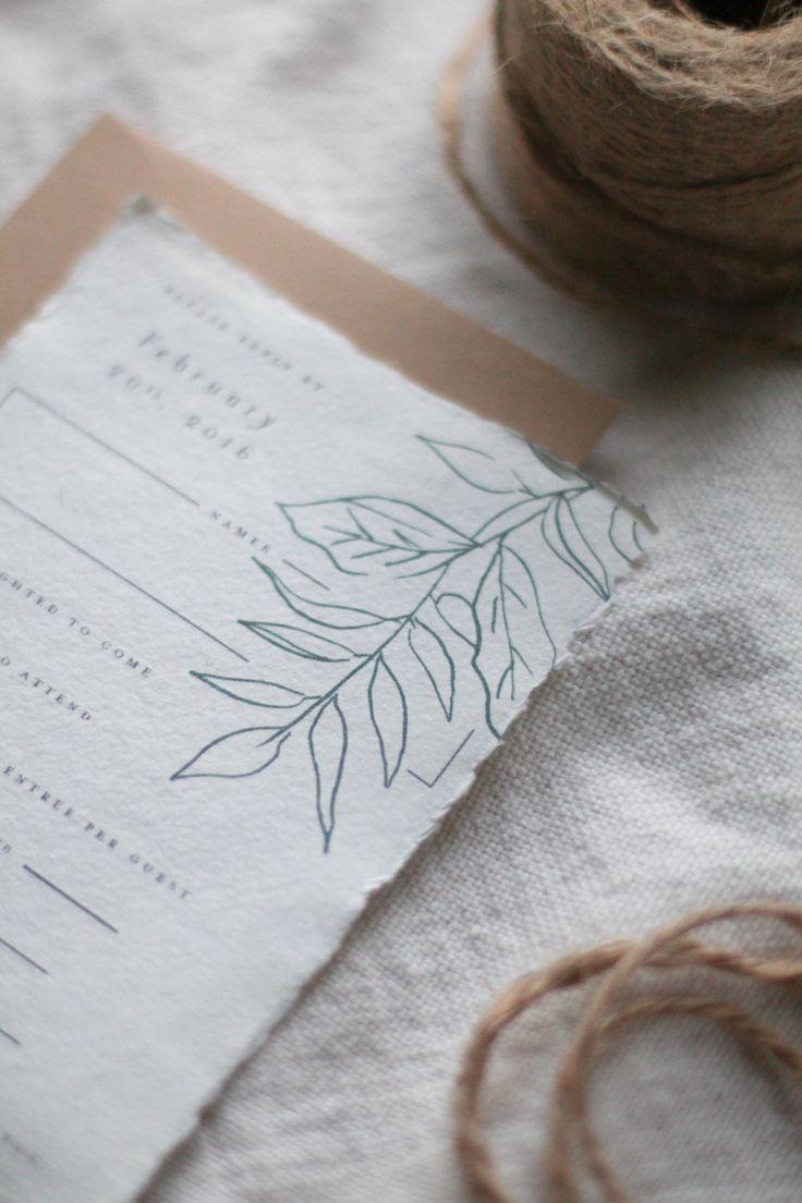 how to return address wedding envelopes%0A Garden Wedding Invitation Botanical Wedding by lichenink on Etsy