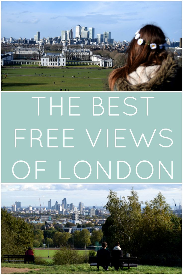 The best free views of London.