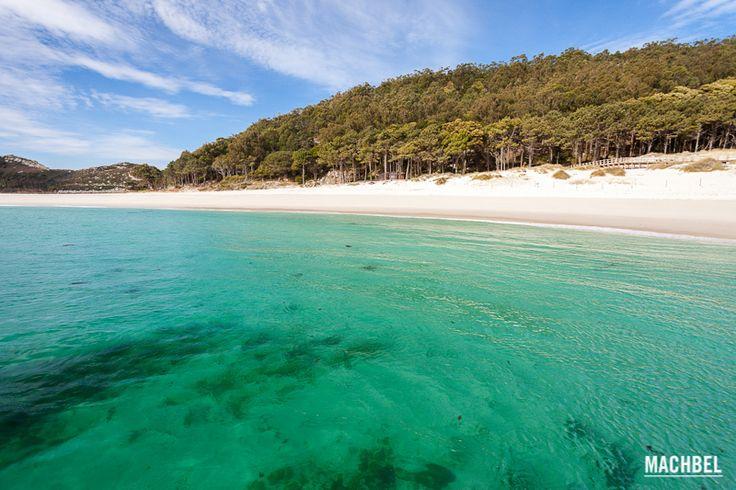 Las playas más increíbles del mundo (FOTOS) Esta se encuentra situada en Islas Cies #españa