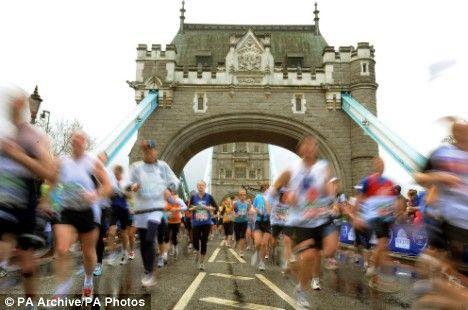 London Marathon one day, one day. accept me ballot dam you.....
