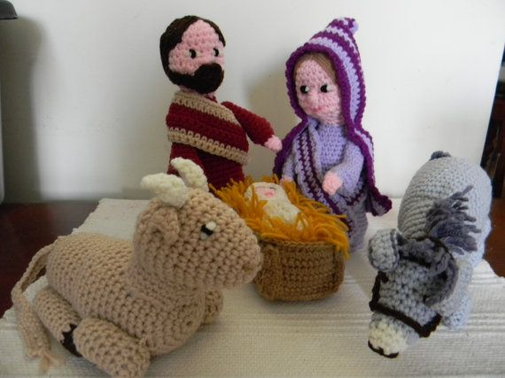 Free Crochet Patterns Nativity Scene : 17 Best images about Navidad Pesebres Hacer Tejidos ...