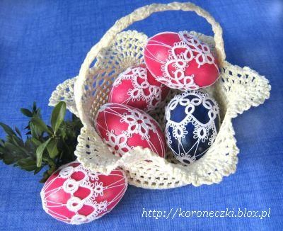 Tatting - Art Lace: eggs