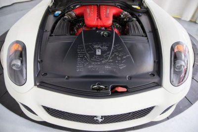 2011 #Ferrari 599 GTB Fiorano F1A White http://www.iseecars.com/used-cars/used-ferrari-for-sale  Used Ferrari for Sale: 37 Cars at $59,000 and up | iSeeCars.com