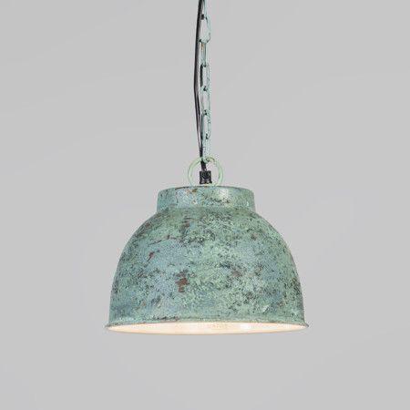 Pendelleuchte Vintage S Antik Grün #Lampe #Innenbeleuchtung #Pendelleuchte