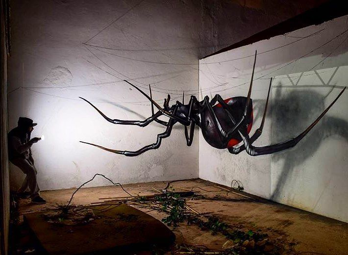 Best ODEITH Images On Pinterest Products Street And Street Art - Incredible forced perspective graffiti artist odeith