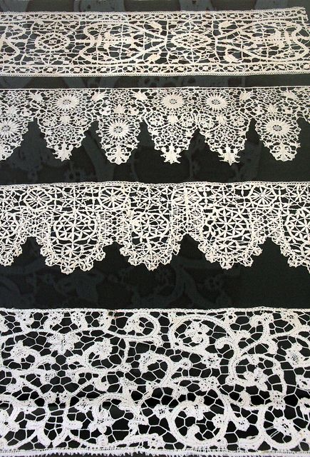Lace trimmings, Italy, early 17th century | Flickr - Photo Sharing!