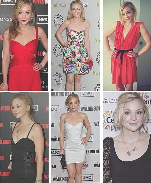 Emily Kinney. The walking dead I think she is just beautiful.