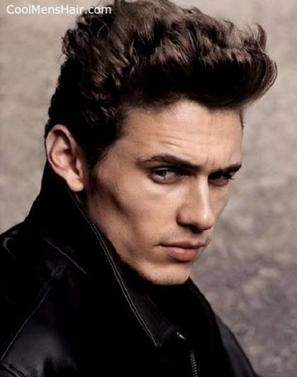 Pompadour hairstyle but with an edge - New Haircuts and Hairstyles