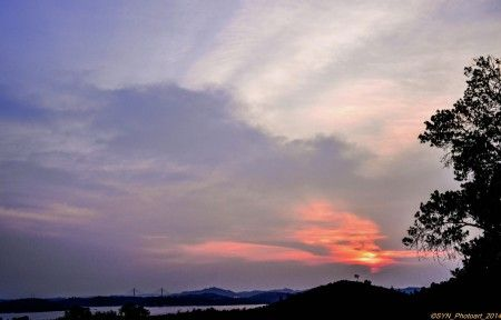 """Sunset after rain"""