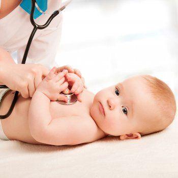 El soplo de corazón en los bebés.