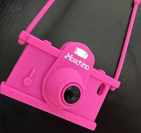 moschino camera iphone 6 6 plus case rose moschino iphone cases. Black Bedroom Furniture Sets. Home Design Ideas