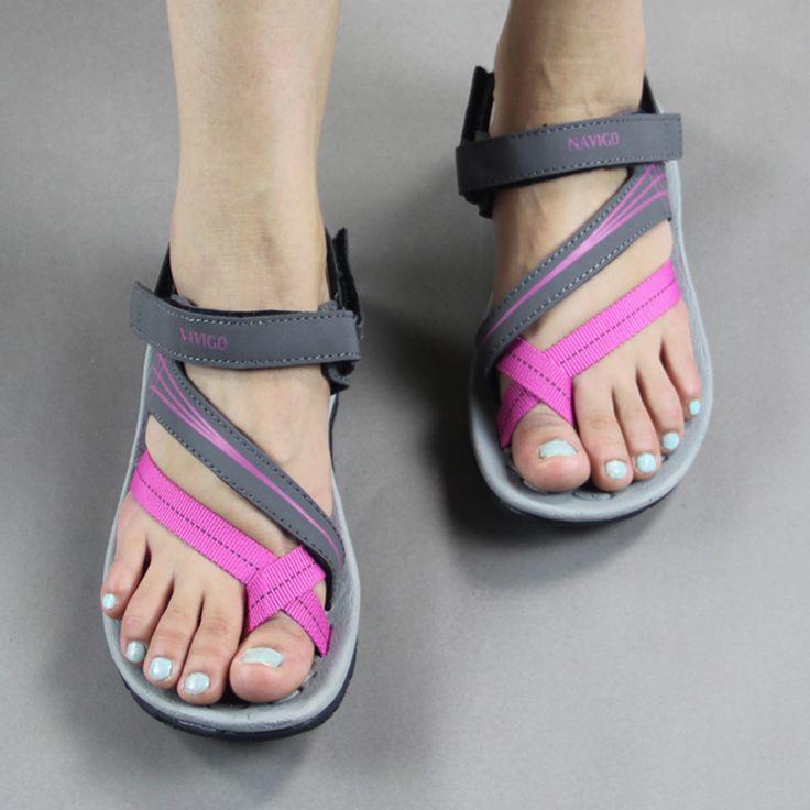 Pink Vietnam Sandals Flats Female Summer Outdoor Leisure Shoes