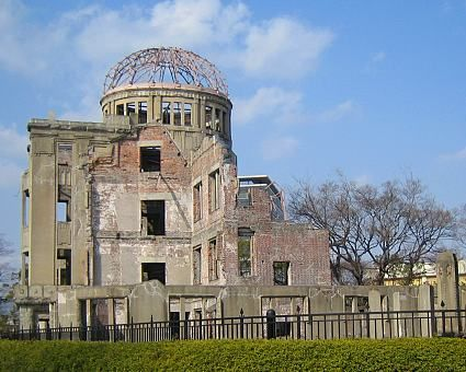 """A-Bomb Dome"" in Hiroshima...Peace Memorial Park...this area was heart wrenching and heart lifting at the same time due to the desire for peace that this park stands for..."