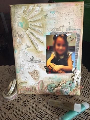 "chicca craft e i little mice: Tela ""adorable princesse"""