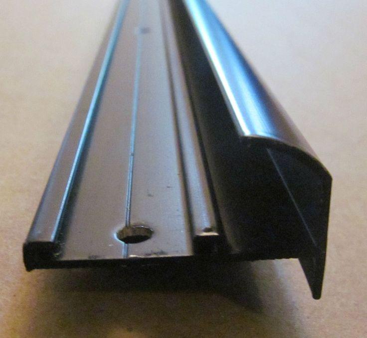 Details About 92 Quot Black Aluminum Insert Type Gutter Drip