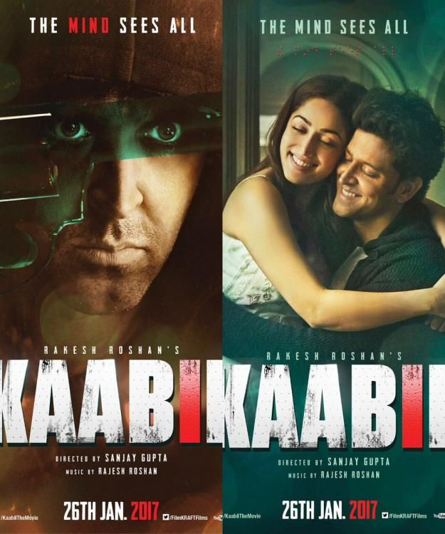Check out the two new posters of Hrithik Roshan and Yami Gautam's film Kaabil!