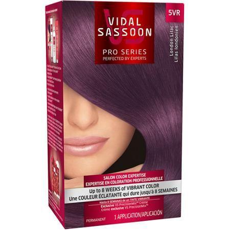Vidal Sassoon Pro Series Hair Color, 5VR London Lilac - Walmart.com