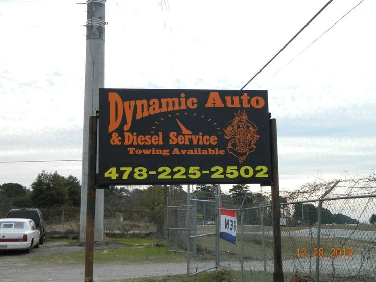 COME TO DYNAMIC AUTO AND DIESEL SERVICE FOR ALL YOUR AUTO REPAIR NEEDS! WE SERVICE ALL MAKES AND MODELS! FROM BRAKES TO ENGINE REPLACEMENT....WE DO IT ALL!!! COME SEE US AT DYNAMIC AUTO AND DIESEL SERVICE 108 N Fourth St WARNER ROBINS GA. We are located right behind Napa Auto Parts off Watson Blvd! 478-225-2502