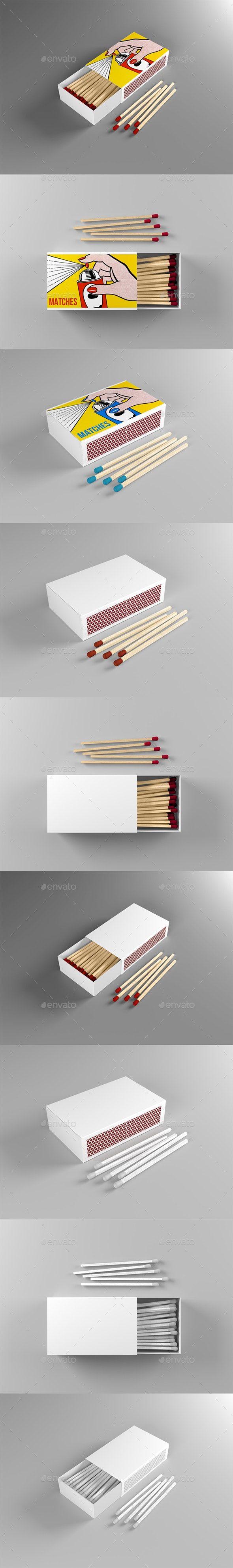 Download Match Box Mock Up Mockup Design Graphic Design Templates Matchbox