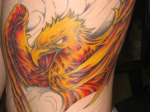 20 Best Phoenix Bird Tattoo Designs | DotCave