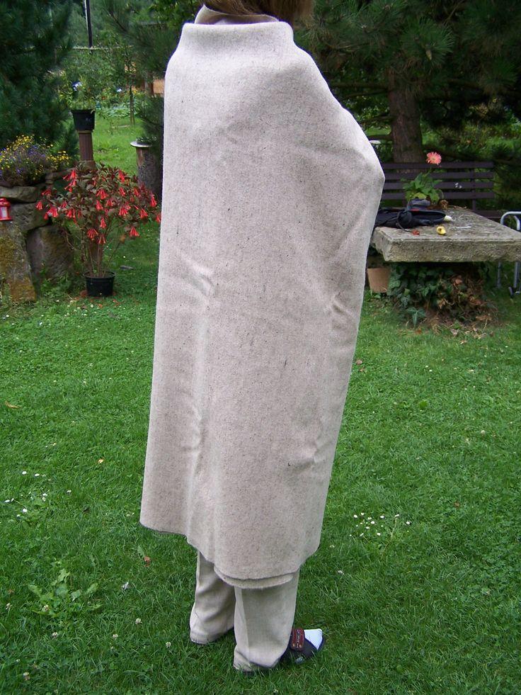 Handwoven sheep wool cloth....