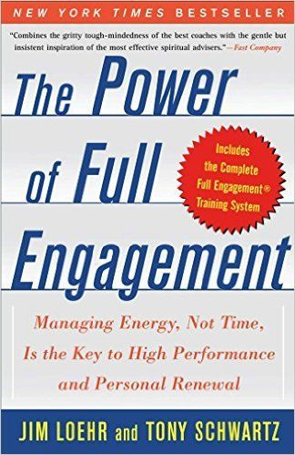 The Power of Full Engagement - Getting the most out of your time to achieve the success you desire. Top personal development book. Success. Energy. Renewal. Self Help. Business Books, Growth Books -- See it here: http://www.developgoodhabits.com/full-engagement