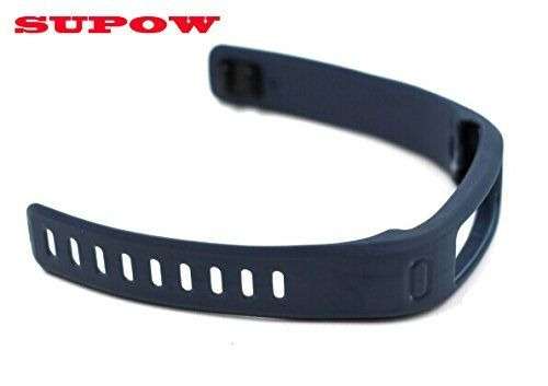 SUPOW(TM) Premium Fashion 1PC Small Size 150MM-210MM Colorful Watchband Strap Replacement Wristbands/Outdoor Professional Sport Watches Accessories For Garmin Vivofit Only SmartBand Intelligent Bracelet Wrist Strap Healthy Fitness Wristbands/Heart Rate monitoring Sleep/A pedometer Watch/Wearable Devices/No tracker/ Wireless Activity Bracelet Sport Arm Band Armband-With Clasps (Rock Cyan) SUPOW smile.amazon.com/...