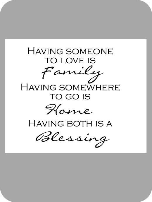 a blessingKitchens Wall, House Of Smith, Wall Decals, True Love, Future House, Wall Quotes, So True, Favorite Quotes, Inspiration Quotes