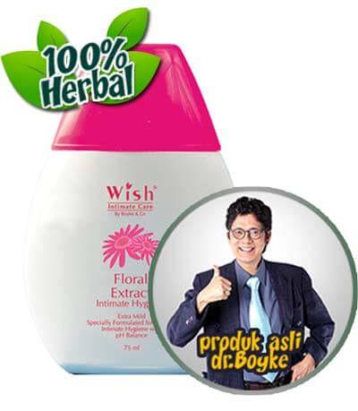 Wish Intimate Hygiene Extract Floral Dr Boyke. Wish Intimate Hygiene Extract Floral Dokter Boyke Menghilangkan Gatal Karena Jamur Keputihan, Menjadikan Daerah Kewanitaan Bersih, Kesat dan Tetap Harum.