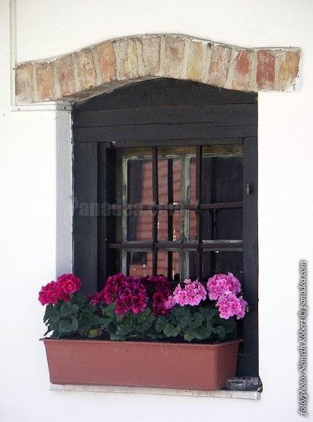 farmhouse window, Hungary