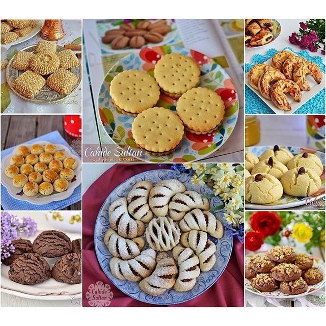 """""""Bayram için farklı bir ikramlık yapayım. Şerbetli değil de kuru tatlılar hazırlayayım""""derseniz, sizin için hem şık hem çok leziz kurabiye tariflerinden bazılarını sizin için derledim. Sitemiz cahidesultan.net de bayrama özel ikramlık kurabiye tarifleri başlığıyla bütün tariflere ulaşabilirsiniz. 👉 cahidesultan.net"""