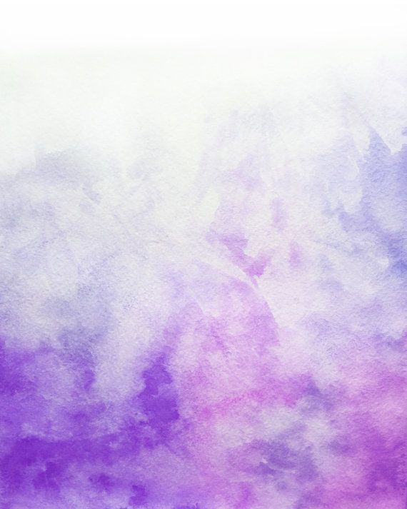 Ombre Watercolor Purple Backgrounds For By GraphicRain