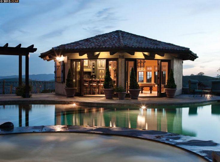 $22 Million Tuscan Inspired Mansion In Blackhawk, CA