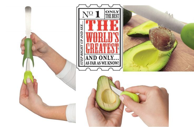 The World's Greatest All-In-One Avocado Tool made by #HaroldImport reviewed by  FaveHealthyRecipes.com  Click the link below to learn more, and enter to WIN an All-in-1 Avocado Tool of your own!  http://www.favehealthyrecipes.com/Food-Product-Reviews/All-In-One-Avocado-Tool#2bUEeqZwryidQQdF.01