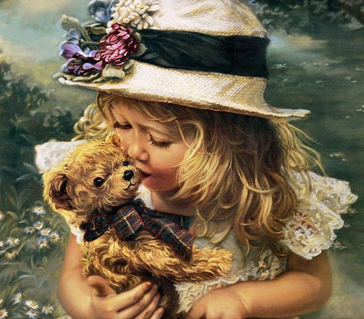 Image result for beautiful paintings teddybears