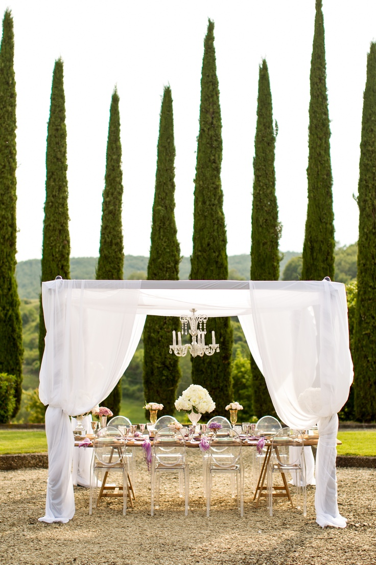 Wedding decor with ghost chairs   best Luncheon images on Pinterest  Bridal photography Wedding
