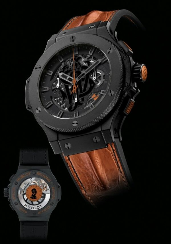 Hublot and Johnnie Walker House's crossover collaboration, Big Bang Aero Johnnie Walker House Limited Edition.