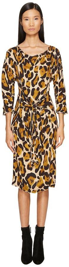 Vivienne Westwood Marilyn Cheetah Dress Women's Dress