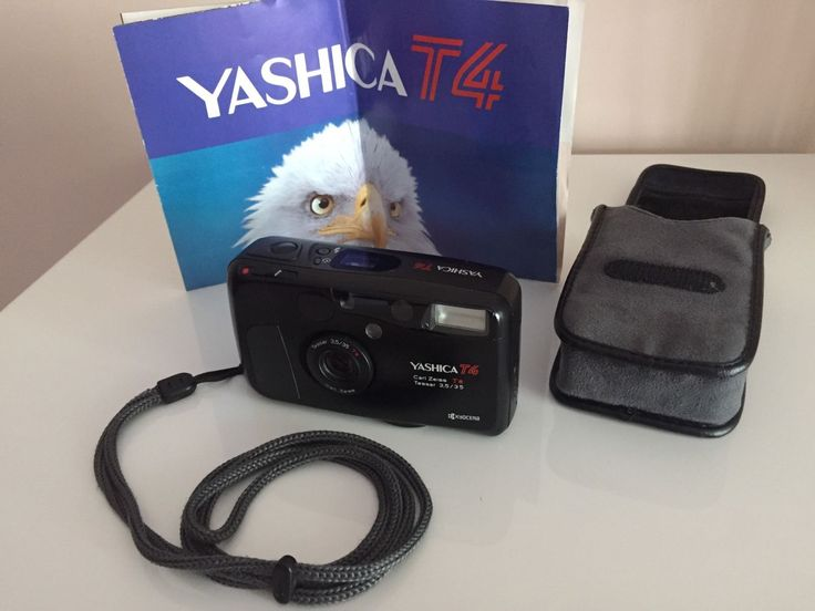 Yashica T4 Compact 35mm Film Camera